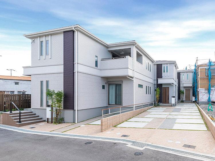枚方市渚元町の分譲地 A号地のオープンハウス開催