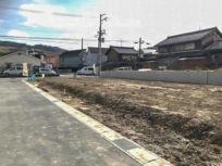 木津川市加茂町里東上田の土地(現在は古家を解体して更地)