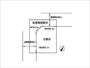 小倉町南浦の土地物件 小倉駅まで徒歩3分