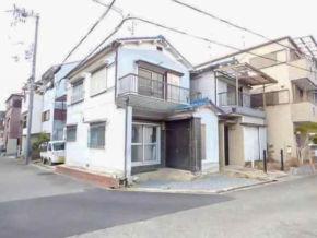 交野市私部に新築注文住宅(古家付きの宅地)