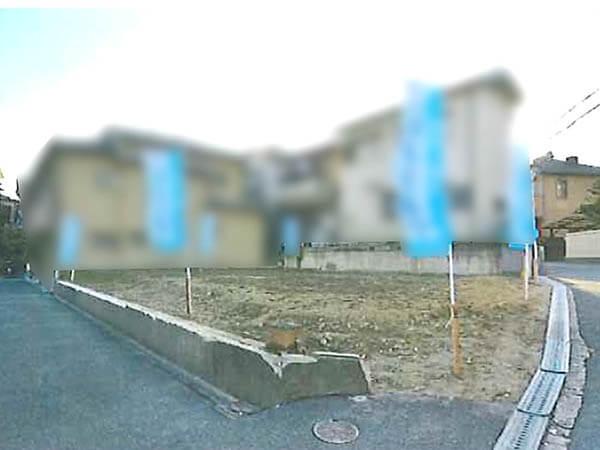 枚方市山之上北町に新築戸建(現在更地)