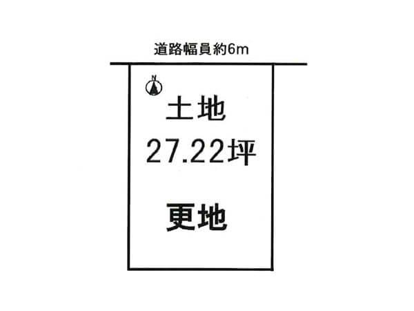 城陽市寺田東ノ口の売土地(城陽駅まで徒歩11分)