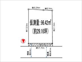 茨木市上中条の売土地(茨木駅まで徒歩14分)