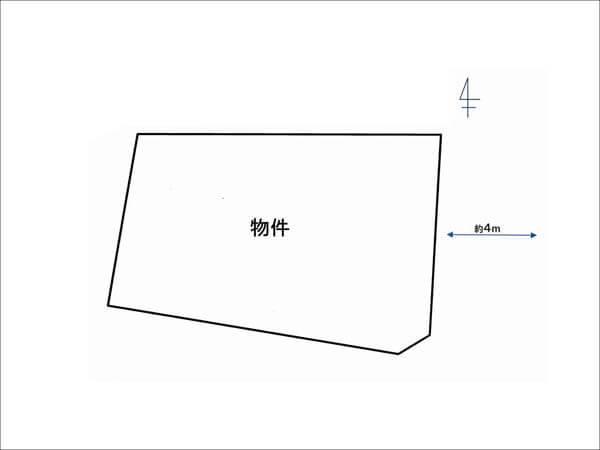 高槻市宮田町の土地(摂津富田駅まで徒歩10分)