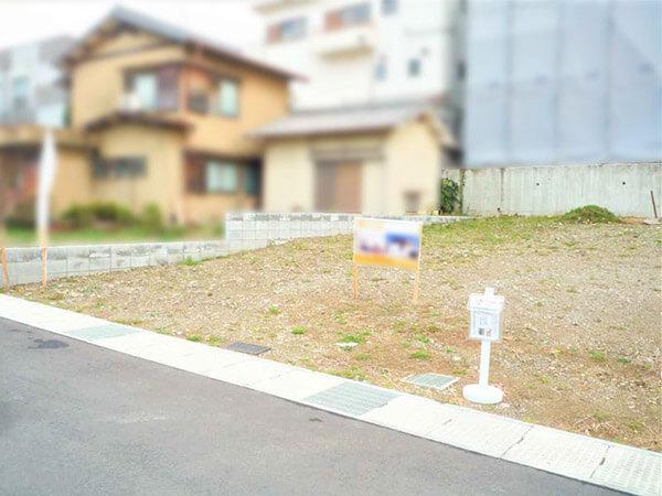 宇治市小倉町西山の分譲地(7・8号地)