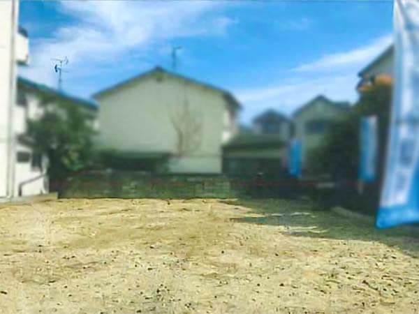 枚方市山之上の売土地(現在は更地)