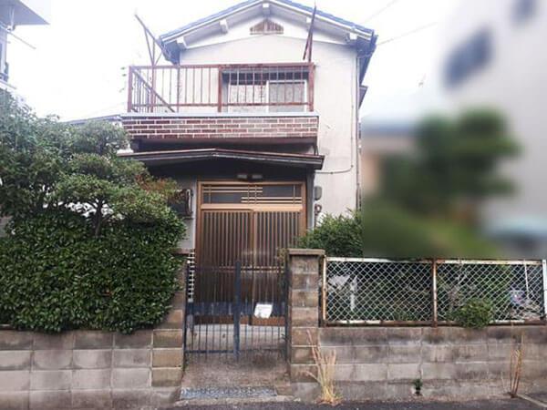 守口市金田町に新築注文住宅(古家付きの宅地)