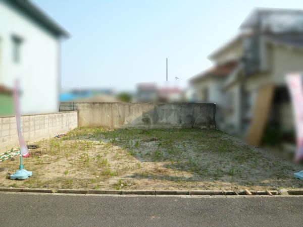 高槻市寿町に新築一戸建て(南側に空きあり)