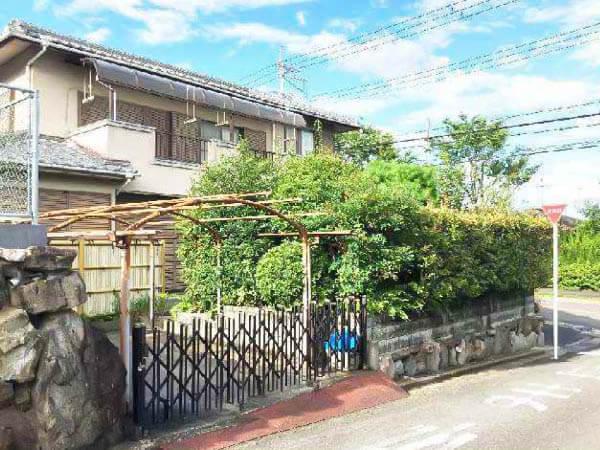 高槻市南平台に新築注文住宅(古家付きの宅地)