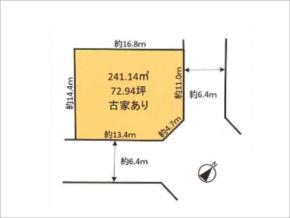 高槻市塚原の売土地(東南の角地)
