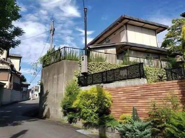 京田辺市大住仲ノ谷に新築注文住宅(古家付きの新築用地)