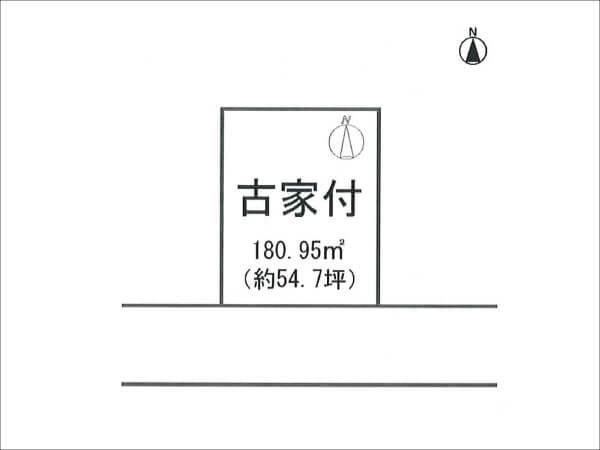 八幡市橋本栗ヶ谷の売土地(橋本駅まで徒歩6分)