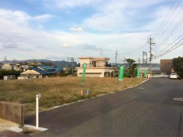 木津川市吐師下柏谷の売土地(分譲地の1号地)