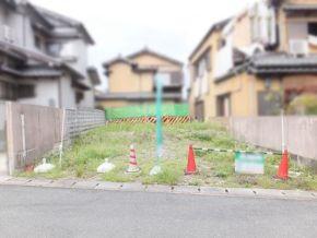伏見区日野野色町の売土地(現在は更地)