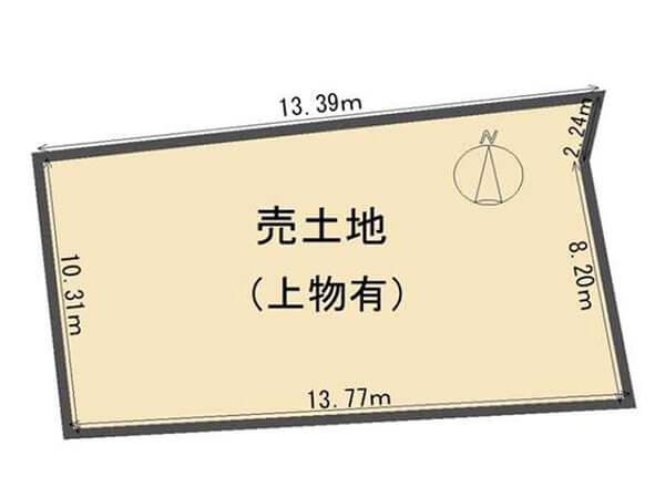 宇治市小倉町西山の売土地(小倉駅まで徒歩5分)