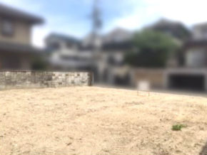 枚方市杉山手の売土地(現在は更地)