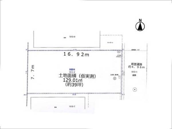 高槻市西町に新築注文住宅(現在は更地)