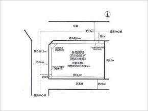 伏見区深草坊町の売土地(藤森駅まで徒歩10分)