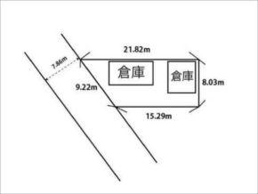 久世郡久御山町森の売土地(敷地図)
