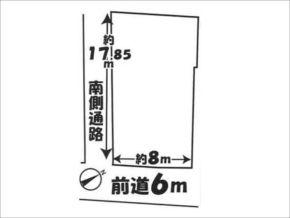 伏見区醍醐東合場町の売土地(石田駅まで徒歩13分)