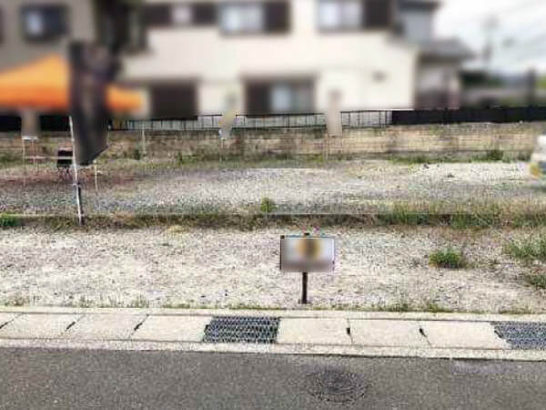 長岡京市勝竜寺巡り原に新築一戸建て(3区画の分譲地)