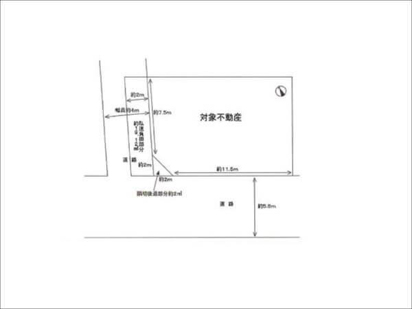 枚方市禁野本町の売土地(枚方市駅まで徒歩10分)