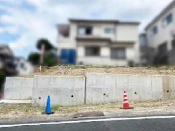 枚方市禁野本町に新築注文住宅(現在は更地)