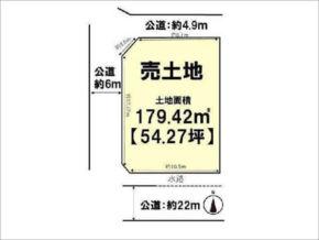 長岡京市柴の里の売土地(西向日駅まで徒歩17分)