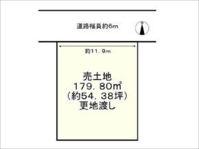宇治市琵琶台の売土地(宇治駅まで徒歩20分)