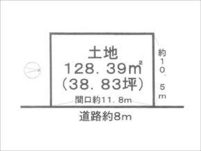 宇治市五ケ庄平野の売土地(黄檗駅まで徒歩4分)