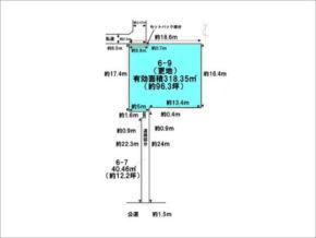 伏見区深草西出町の売土地(藤森駅まで徒歩8分)