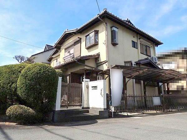 長岡京市城の里の売土地(古家付きの宅地)
