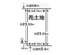 伏見区桃山最上町の売土地(墨染駅まで徒歩8分)