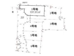 木津川市山城町平尾中古川の売土地(分譲地の1号地)