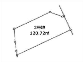 木津川市吐師松葉の売土地(分譲地の2号地)