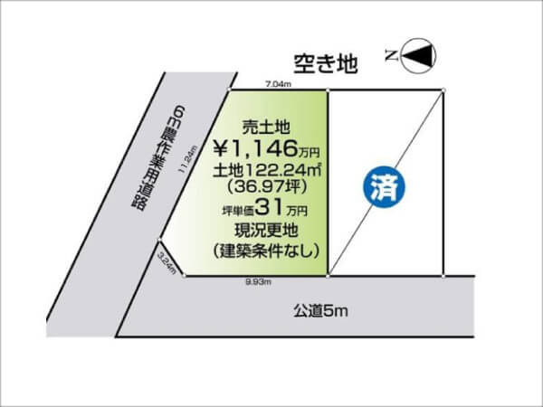 京田辺市薪桑ノ木に新築一戸建て(大住駅まで徒歩14分)