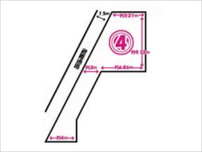 長岡京市滝ノ町の売土地(4号地)
