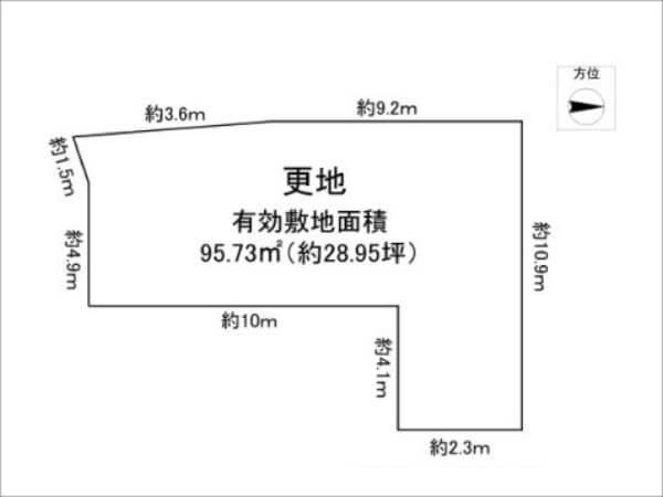 枚方市楠葉丘の売土地(樟葉駅まで徒歩17分)