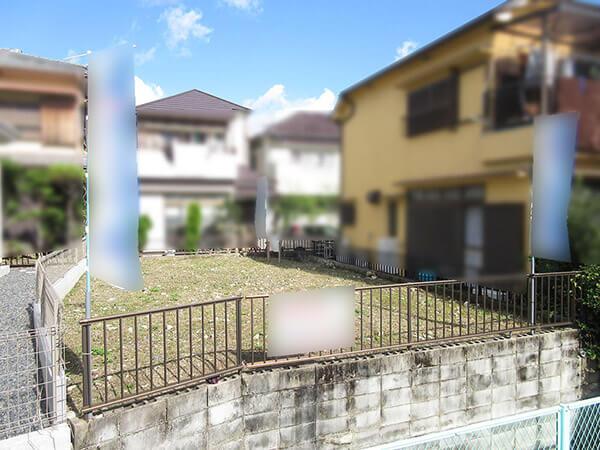 枚方市楠葉丘の売土地(現在は更地)