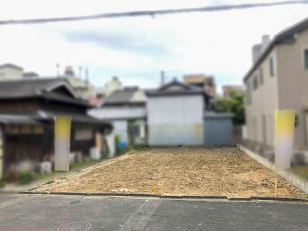 守口市神木町に新築一戸建て(現在は更地)
