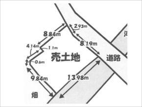 宇治市小倉町西山の売土地(小倉駅まで徒歩4分)