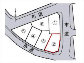 寝屋川市御幸西町の売土地(6区画分譲の2号地)