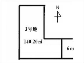 城陽市寺田尺後の売土地(寺田駅まで徒歩7分)