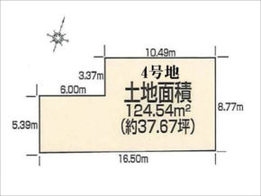 八幡市男山美桜の売土地(4号地)