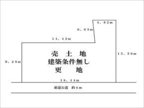 宇治市広野町丸山の売土地(新田駅まで徒歩11分)