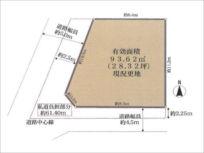 枚方市養父西町の売土地(牧野駅まで徒歩8分)