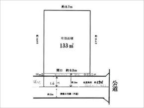 四條畷市大字清瀧の売土地(忍ケ丘駅まで徒歩7分)