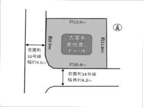 茨木市若園町の売土地(南茨木駅まで徒歩23分)