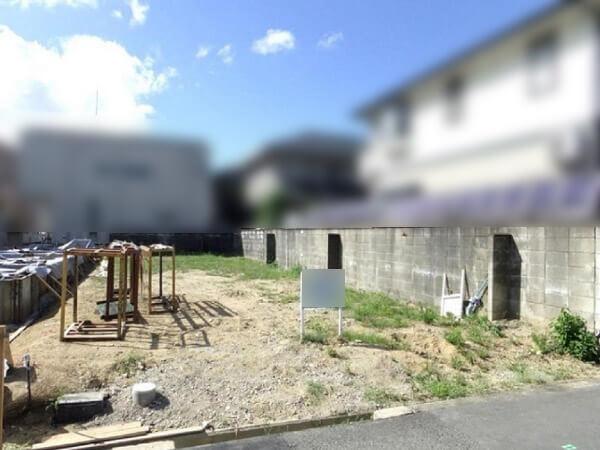 茨木市桑田町に新築一戸建て(現在は更地)