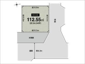 高槻市如是町の売土地(富田駅まで徒歩17分)
